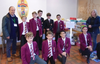 Chaplaincy Team Shoe Box Appeal