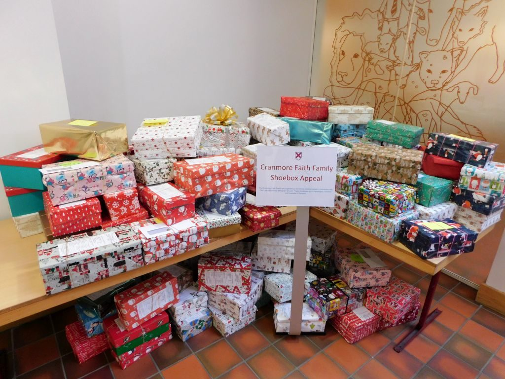 Shoebox Appeal collection