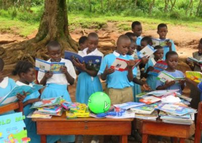 St Kizito School, Uganda receive gifts of books from Cranmore