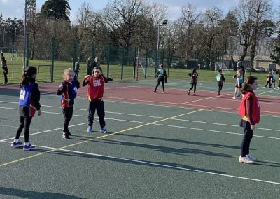 U8s Netball Vs Downsend